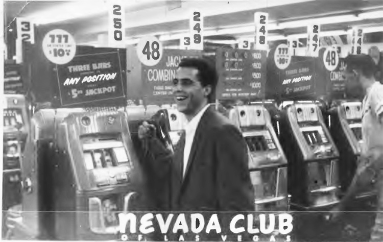My first gig in Las Vegas, 1959