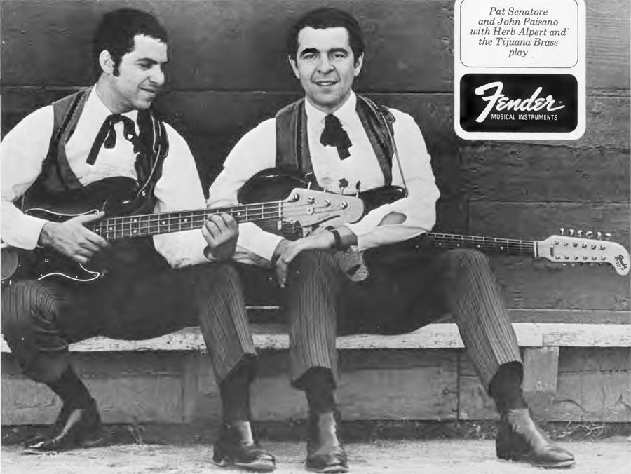 Pat Senatore and John Pisano during Tijuana Brass years